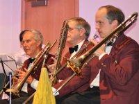 Trombones Richard, Clive and Gavin
