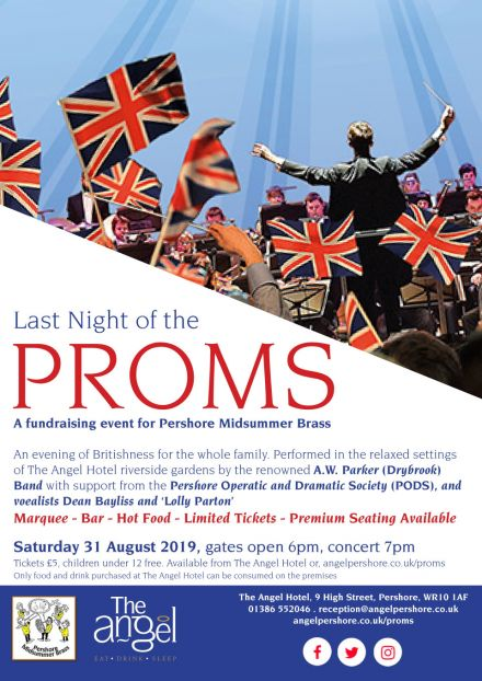 Pershore Midsummer Brass Proms